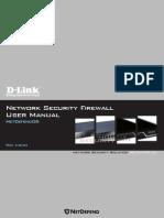 MANUAL NetDefendOS 2.27.03 Firewall UserManual