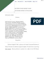 Uhde v. Wallace - Document No. 4