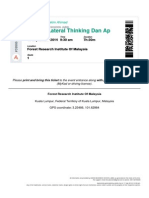 Kursus Lateral Thinking Dan Aplikasinya Dalam Bisnes - RSPchnEjdkyOIt