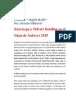 Columna de Ajedrez, Blog de Julian. Miercoles 22 de Julio de 2015