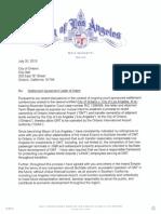 Settlement Agreement Letter of Intent
