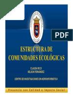 Estructura de Comunidades Ecologicas