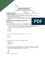 Evaluacion Formativa Nº5(Octavo Basico 2015)