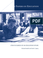Utah in Search of an Education Future