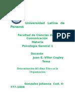 Determinacion del Clima Etico en la Organizacion.docx