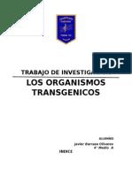 Trabajo de Investigacion Los Transgenicos