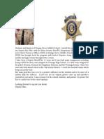 Deputy Welcome Letter