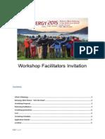 Workshop Facilitator Invitation Menergy 2015_'Into the Heart'