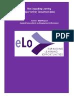 eLo Summer 2015 Report