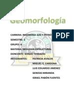 Geomorfología (Geo Esctructural)