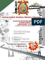 Plan de Responsabilidad Empresarial