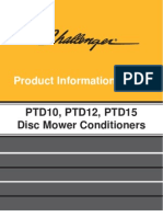 Disk Mower Conditioners