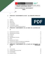 Manual O&M _Sistema de Saneamiento