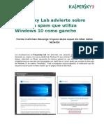 KL- Alerta de Troyano Windows10