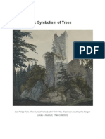 The Romantic Symbolism of Trees