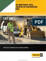Material Plan Monitoreo Total Maquinaria Caterpillar Construccion Mineria Ferreyros
