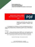 Rt Cbmrs -Nr -34 -Das -Penalidades -Aplicacoes