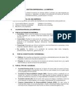 Gestión Empresarial_La Empresa
