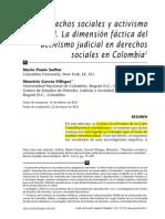 Activismo Judicial m.p. Saffon