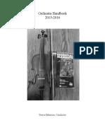 weebly orchestra handbook