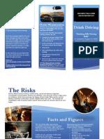 drink driving brochure