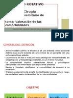 Valoracion de Las Comorbilidades(1)