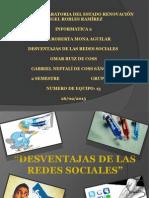 Materia Informática.- Tema Redes Sociales