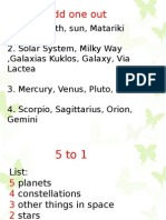 astronomy starter (literacy)