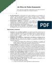 Código de Ética de Pedro Kumamoto