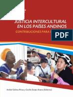 Justicia Intercultural en Los Países Andinos