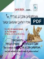 FESTIVAL DEL LIBRO LAMBAYECANO