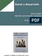 Mujeres, Salud y Desarrollo