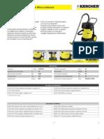 Aspiratore solidi-liquidi Karcher NT 70-2