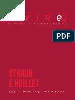 Revista Devires Cinema e Humanidades - Dossiê Straub-Huillet