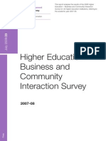 Higher Education Business Survey