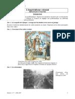 chapitre 2 Imperialisme Colonial