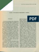 Razon y Totalidad en Horkheimer y Adorno