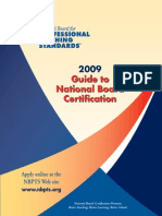 Profesional Teaching Standars Guide 2009