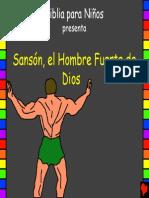 Samson Gods Strong Man Spanish