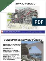 Diseño Urbano III. Espacio Público.