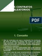 11 - 11 Aula - Dos Contratos Aleatorios.ppt