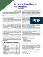 Principios de Control Microbiológico Con Oxidantes
