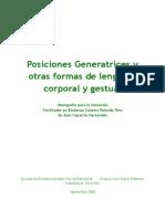 Posiciones Generatrices y Otras Formas de Lenguaje Corporal y Gestual. Jaso Caparros
