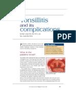 Tonsilitis 1