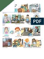 Vocabulary Daily Activities