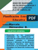 Planificacion Estrategica Educativa