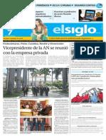 Edición Impresa El Siglo 07-08-2015