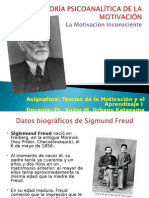 07. Teoria Psicoanalitica de La Motivacion