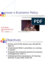 How Hitler Helped the Economy