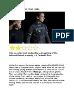 Review Fantastic Four